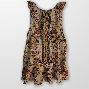 FP Free People Summer in Tulum NEW Top SZ L!  Wow